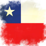 Flag of chile Stock Photos