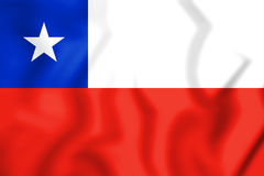 Flag_of_Chile 库存照片