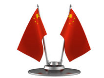The flag of China Royalty Free Stock Photography