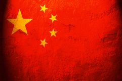 Flag of China Stock Photography