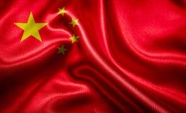 Flag of China Stock Image