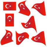 Flag collection of Turkey Stock Photos