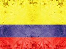 Flag-Colombia Stock Image