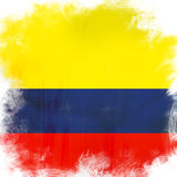 Flag of colombia Royalty Free Stock Photos