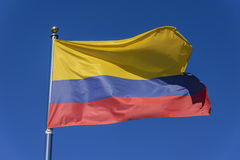 Flag of Colombia Royalty Free Stock Images