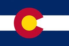 Flag of Colorado Royalty Free Stock Image