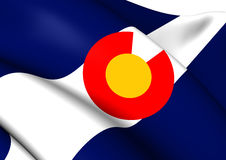 Flag of Colorado Royalty Free Stock Photos