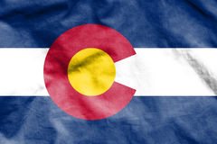 Flag of Colorado, USA. 3d Rendered Flag of Colorado, USA Stock Photos