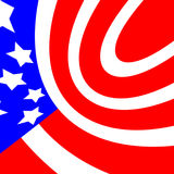 Flag colors. American flag colors background filling the frame Royalty Free Stock Photo