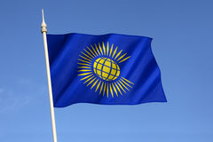 Flag of the Commonwealth of Nations Stock Photography