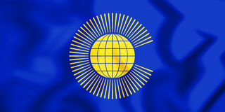 Flag of the Commonwealth of Nations. 3D Illustration. 3D Flag of the Commonwealth of Nations. 3D Illustration Stock Photos