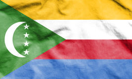 Flag of the Comoros. Stock Image
