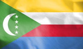 Flag of the Comoros. Royalty Free Stock Images