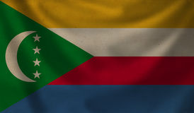 Flag of Comoros. Royalty Free Stock Image