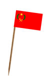 Flag of Congo Stock Photography