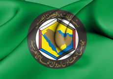 Flag of Cooperation Council for the Arab States of the Gulf. Stock Images