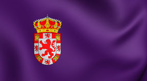 Flag of Cordoba Province, Spane. Royalty Free Stock Photography
