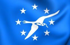 Flag of Corpus Christi City Texas, USA. Royalty Free Stock Images