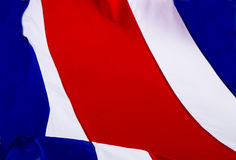 Flag of Costa Rica Stock Image
