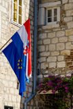 Flag of Croatia Stock Images