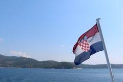 Flag of Croatia Royalty Free Stock Image