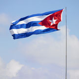 Flag of Cuba Stock Images