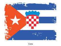 Flag of Cuba Royalty Free Stock Photos