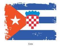 Flag of Cuba Royalty Free Stock Photos
