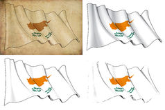 Flag of Cyprus Stock Photography