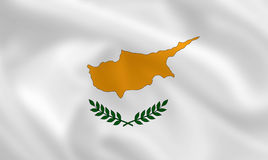 Flag of Cyprus Stock Photography