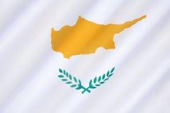 Flag of Cyprus Royalty Free Stock Photos