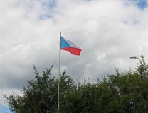 Flag of Czech republic Royalty Free Stock Photography