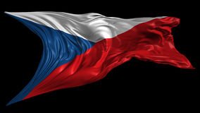 Flag of Czech Republic Stock Photos