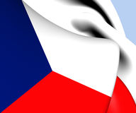 Flag of Czech Republic Royalty Free Stock Photo