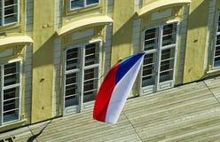 Flag of Czech Republic Stock Photos