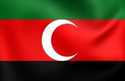 Flag of Darfur, Sudan. Royalty Free Stock Image