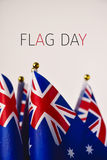 Flag day of Australia stock photography