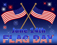 Flag Day background. Royalty Free Stock Photo