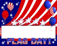 Flag day background. Royalty Free Stock Images