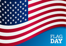 Flag day background Royalty Free Stock Photo