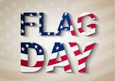 Flag day background Royalty Free Stock Photography