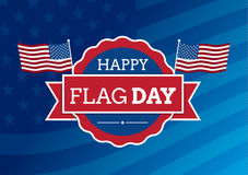 Flag day badge Stock Photo