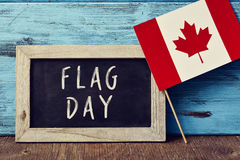 Flag Day of Canada Stock Images