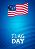Flag day card Stock Photo