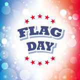 Flag day greeting card. Flag day america greeting card abstract background  illustration Stock Image