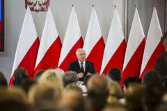 Flag day of the Republic of Poland in the Sejm of the Republic of Poland,. On May 2, 2015 in the Parliament of the Republic hosted a conference dedicated to the Royalty Free Stock Photography