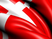 Flag of Denmark Stock Image