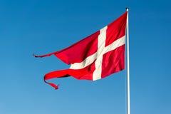 Flag of Denmark Stock Photography
