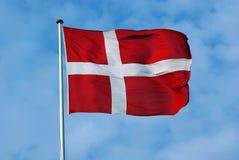 Flag of Denmark Royalty Free Stock Photography