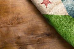 Flag of Djibouti state Royalty Free Stock Photo